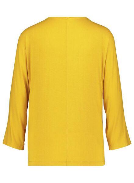women's top yellow yellow - 1000017077 - hema