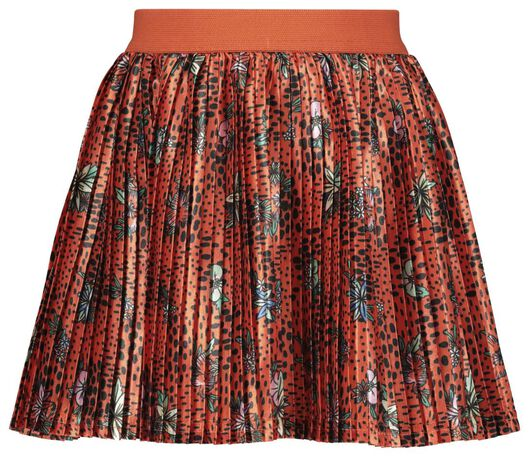 children's pleated skirt red red - 1000017863 - hema