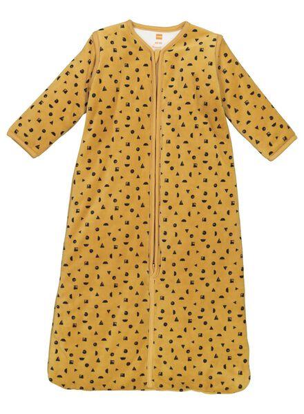 baby sleeping bag padded - removable sleeves yellow yellow - 1000015087 - hema