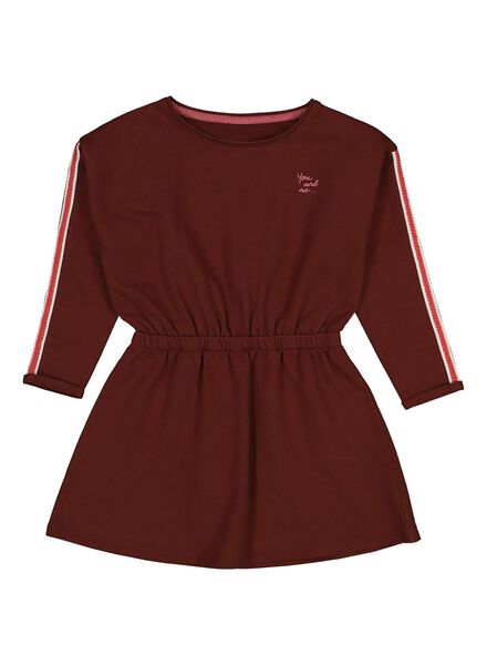 children's sweat dress brown brown - 1000013705 - hema