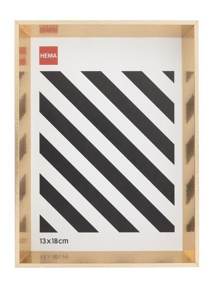 Bilderrahmen 13 x 18 - Holz goldfarben 13 x 18 gold - 13691025 - HEMA