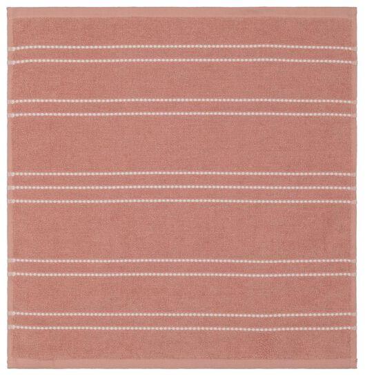 kitchen towel - 50 x 50 - cotton - orange stripe - 5490034 - hema