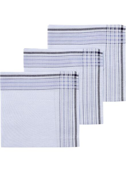 3-pack men's handkerchiefs - 1400003 - hema