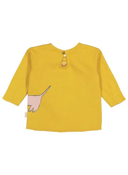sweat bébé jaune jaune - 1000016907 - HEMA
