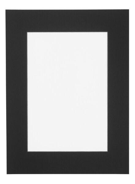 passe-partout 30 x 40 cm noir 20 x 30 noir - 13691035 - HEMA