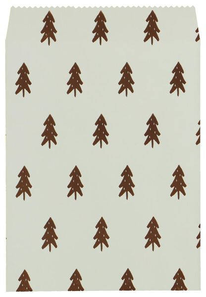 4 gift bags Christmas tree/reindeer - 25700147 - hema