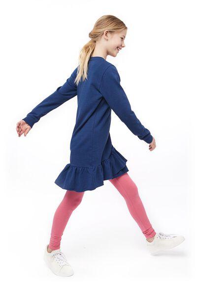 children's dress - recycled cotton dark blue dark blue - 1000017605 - hema