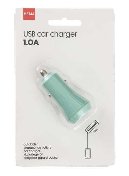 chargeur voiture USB 1.0A - 39610056 - HEMA