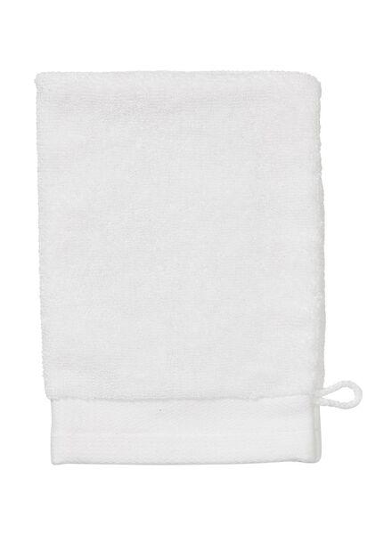 wash mitt - bamboo - white white wash mitt - 5200129 - hema