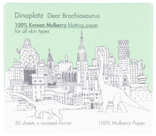 50 small blotting sheets with mulberry - Dinoplatz - 17620001 - hema