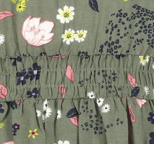 Kinder-Kleid graugrün graugrün - 1000020223 - HEMA
