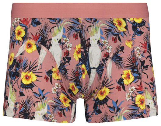 men's boxers short cotton stretch pink pink - 1000018798 - hema