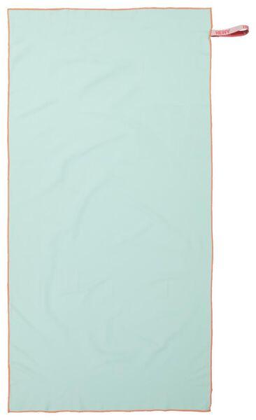 serviette de bain microfibre 110x175 vert clair - 5290065 - HEMA