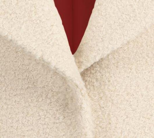 Damen-Jacke, Teddystoff beige beige - 1000020773 - HEMA