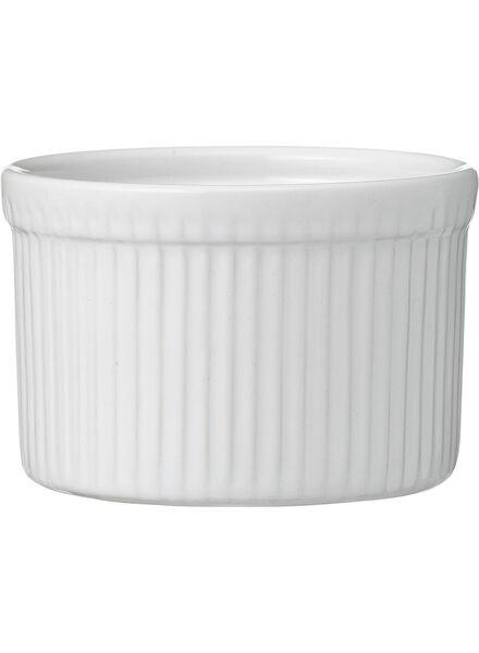 Pastetenform, Ø 6.5 cm, weiß - 80153082 - HEMA