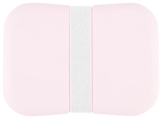 lunch box with elastic pink - 80610303 - hema