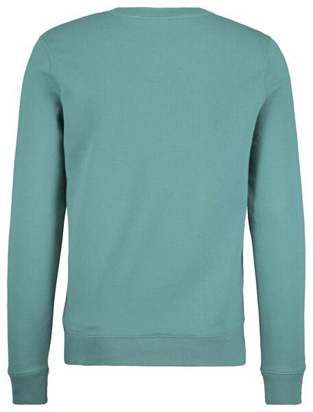 Herren-Sweatshirt grün grün - 1000017632 - HEMA