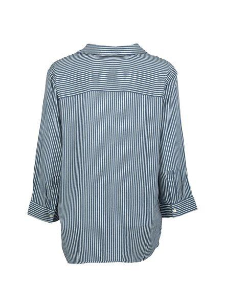 Damen-Bluse mittelblau mittelblau - 1000014323 - HEMA