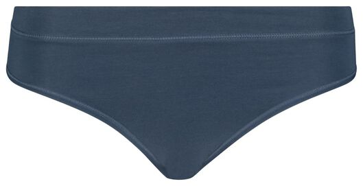 women's briefs real lasting cotton® blue blue - 1000018638 - hema