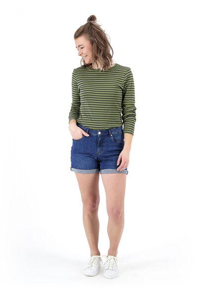 women's T-shirt olive olive - 1000019469 - hema