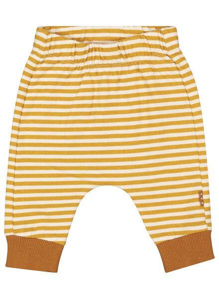 newborn trousers yellow yellow - 1000017301 - hema