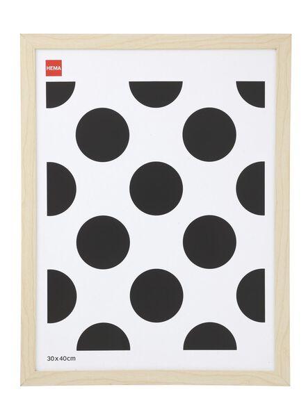 photo frame 30x40 - wood 30 x 40 wood - 13680028 - hema