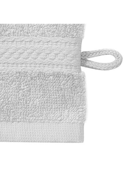 gant de toilette-qualité épaisse-gris clair uni - 5240207 - HEMA