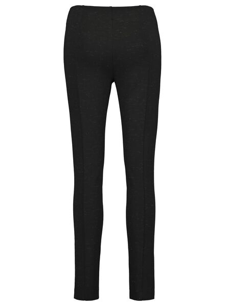 women's trousers with glitter black black - 1000017518 - hema