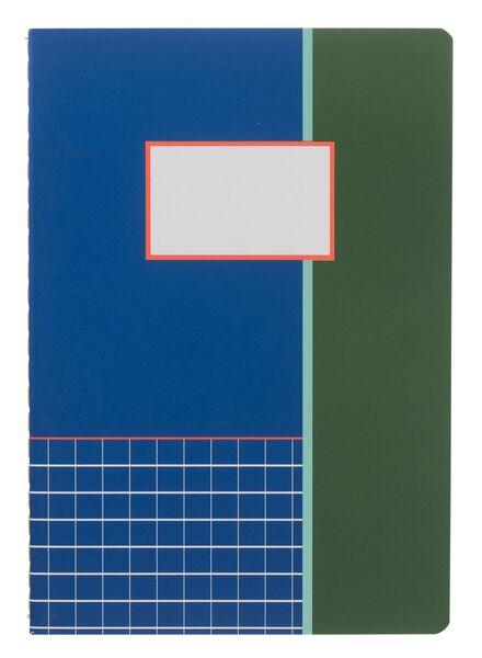3 cahiers A5 lignés - 14101343 - HEMA
