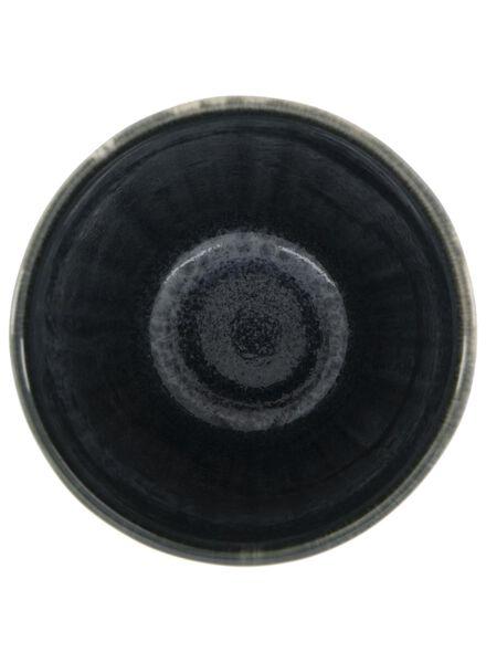 mug 8 cm - Porto - reactive glaze - black - 9602033 - hema
