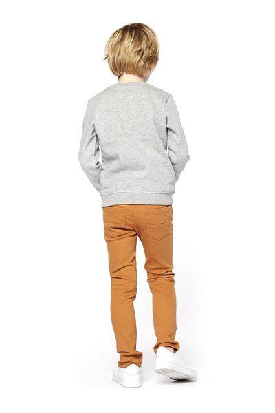 children's sweater grey melange grey melange - 1000017722 - hema