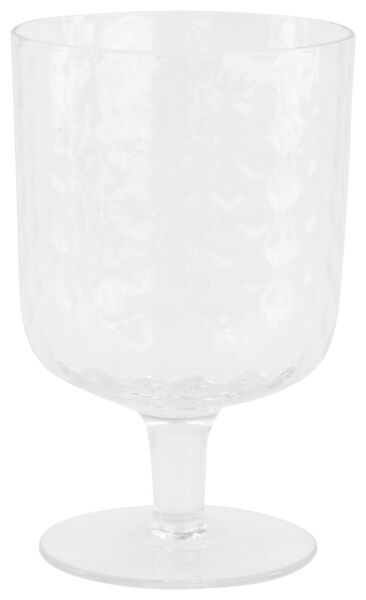 verre à vin Bergen facette relief 250ml - 9401055 - HEMA