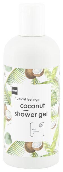 shower gel coconut 300 ml - 11314150 - hema