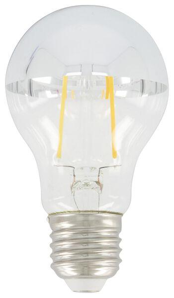 LED lamp 34W - 380 lm - pear - silver-coloured upward reflecting - 20020014 - hema