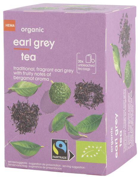 thee bio earl grey 20 stuks - 17190005 - HEMA