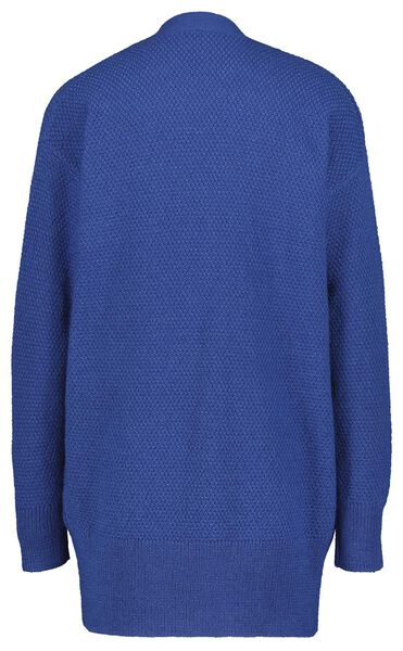 Damen-Strickjacke kobaltblau S - 36239439 - HEMA