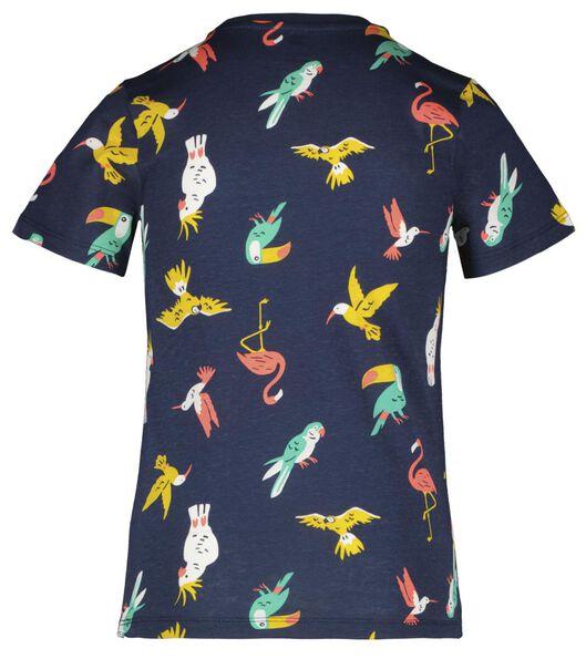Kinder-Kurzpyjama, Vögel dunkelblau dunkelblau - 1000023821 - HEMA