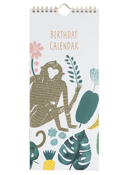 Image of HEMA Birthday Calendar 30.4 X 13 Cm