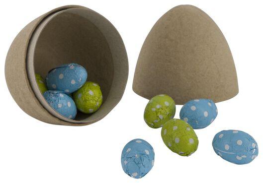 Easter eggs vegan in egg 100 grams - 10051006 - hema
