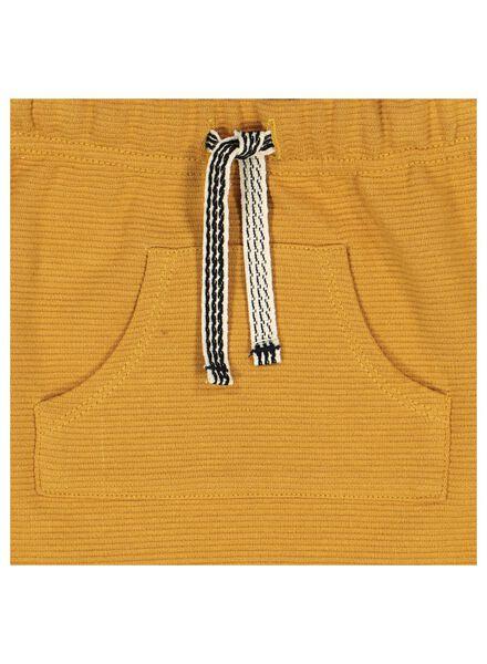 pantalon sweat bébé jaune jaune - 1000014374 - HEMA