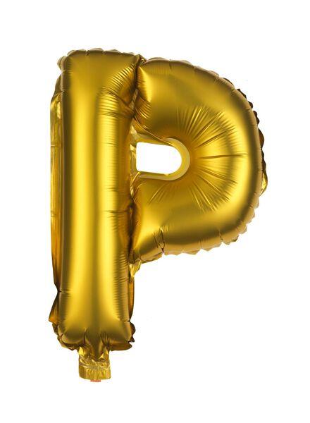 ballon alu P doré P - 14200254 - HEMA