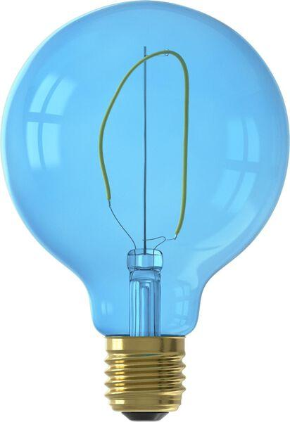 HEMA LED-Lampe, 4 W, 80 Lm, Kugel, G95, Blau