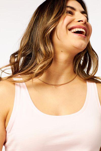 dames basic singlet lichtroze lichtroze - 1000023910 - HEMA