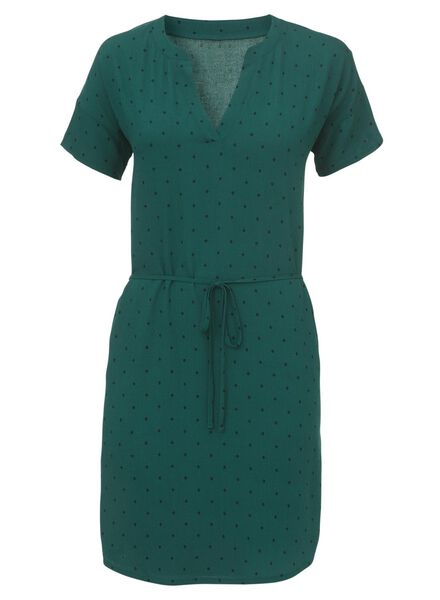 women's dress green green - 1000006774 - hema