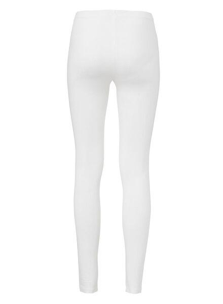 women's leggings white white - 1000012832 - hema