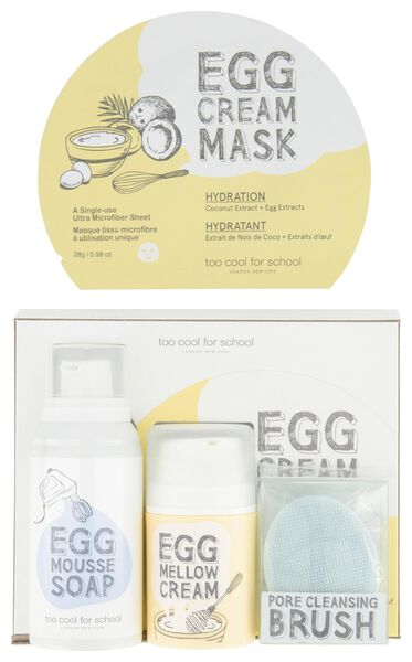 egg-ssential skin care set 4-piece 'Too Cool For School' - 11328010 - hema