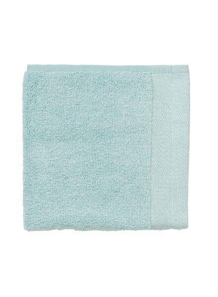petite serviette - 33x50 cm - bambou - aqua - 5200132 - HEMA