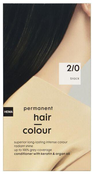 hair dye black 2/0 - 11050036 - hema