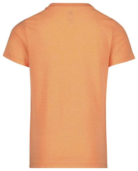 children's T-shirt bright orange bright orange - 1000019119 - hema