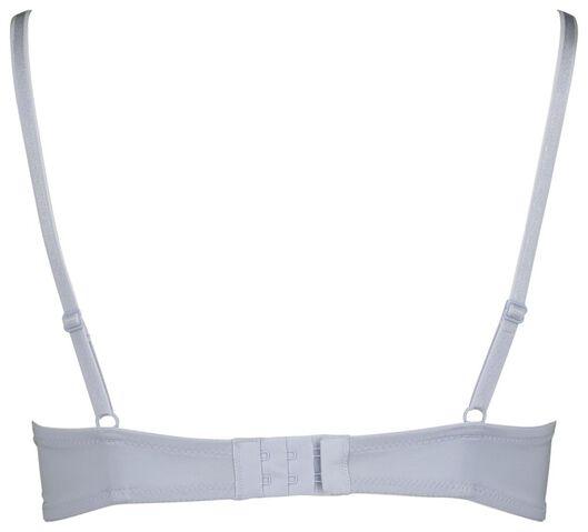 padded T-shirt bra micro recycled blue blue - 1000019669 - hema